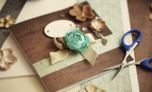 Two-Hour Intro to Card-Making or Scrapbooking Class for One, Two, or Four at That Art Place (Up to 63% Off)