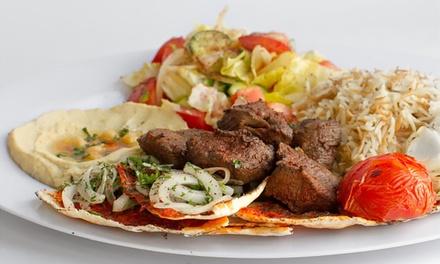 $12 for Two $10 Vouchers Toward Mediterranean Food at Aleppo Kitchen ($20 Value)