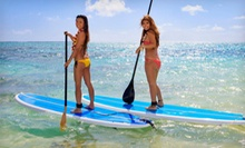 Standup Paddleboard Rentals or Lessons for One or Two at By Land and Sea Stand Up Paddle (Up to 60% Off)