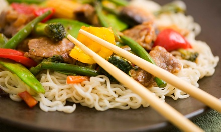Asian Fusion Cuisine for Two or Four or More at Asian Fusion College Park (50% Off)