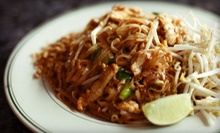 Thai Cuisine for Two or Four at Pacifica Thai Cuisine (Up to 55% Off)