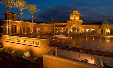 $99 for a One-Year Membership to Raven Golf Club at Verrado ($500 Value)
