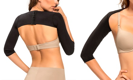 Arm-Slimming Compression Wrap with Posture Support