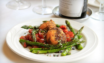 $15 for $30 Worth of French Bistro Cuisine for Dinner at Jilly&#x27;s Cafe