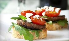 Small Plates, Tapas, and Drinks at Olive Black Martini & Wine Lounge (Up to 67% Off). Three Options Available.