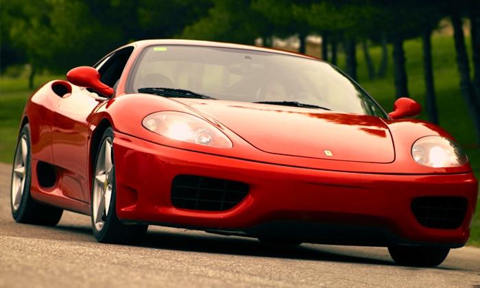 Conducción de un Ferrari F430 F1, Lamborghini Gallardo o Porsche