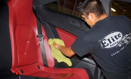 $45 for Auto Mini Detail Package at Elite Auto Spa ($85 Value)