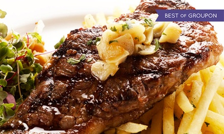 $65 for a Dinner for Two with Appetizer, Desserts, and Wine at Brazil Brazil Restaurant (Up to $135 Value)