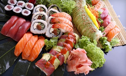 $10 for $20 Worth of Sushi and Japanese Food at Sakura Sushi