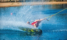 Two-Hour, Four-Hour, or Full-Day Wakeboarding Cable Pass with Rental Gear and Coaching at Wake Island (Up to 51% Off)