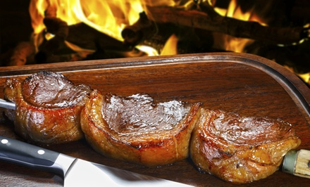Dinner for Up to Two or Four with Cocktails at Black Fire Bull Brazilian Steakhouse (Up to 34% Off)