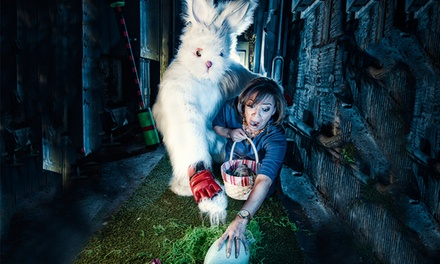 Entry for Two or VIP Passes to Full Bunny Contact an Extreme Egg Hunt & Twisted Easter Carnival (Up to 50% Off)