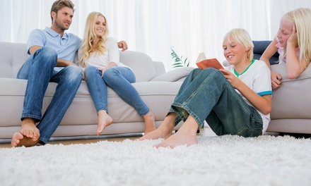 Up to 60% Off Carpet Cleaning Services at In and Out Steamers
