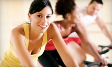 20-Day Indoor-Track Pass or 10 or 20 Group Fitness Classes at New World Fitness (Up to 62% Off)