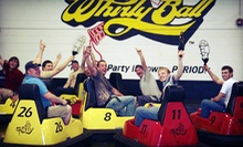 $155 for a Whirlyball Outing for Up to 15 People with Pizza, Choice of Salad or Chips, and Soda ($364 Value)