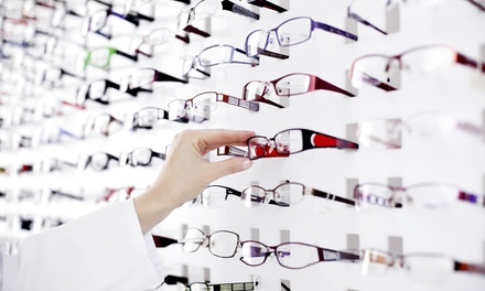 $45 for a Complete Eye Exam and $150 Toward Eyeglasses at EyeCare One ($249 Value)