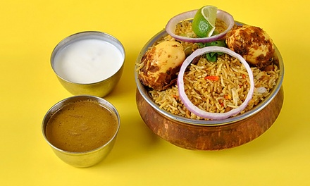 Indian Food for Two or Four or More at Biriyani Factory (Up to 48% Off)