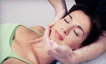 Massage, Glycolic Peel, Both, or a Laser Facial-Rejuvenation Treatment at Art of Natural Beauty Center (Up to 67% Off)