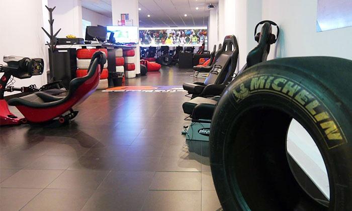 Autódromo Virtual Miguel Bombarda — Saldanha: corrida virtual para 2, 4 ou 7 pessoas desde 12€