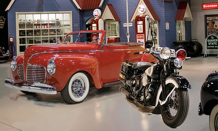 Two or Four General Admissions at Antique Automobile Club of America Museum (Up to 40% Off)