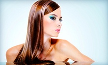 Wash, Cut, and Style with Optional Color or Full Highlights from Susan Ferri at Hair-N-Now (Up to 57% Off)
