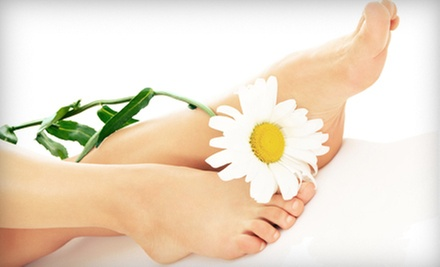 One or Two Detox Footbaths, or One Footbath with an Infrared-Sauna Session at Life Laser Therapy Center (Up to 58% Off)