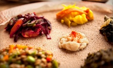 Ethiopian Dinner for Two or Four, Valid Sunday–Thursday or Friday–Saturday at Addis Red Sea (Up to 54% Off)