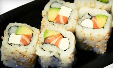 Sushi for Lunch or Dinner at Sushi Express (Half Off)