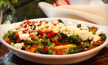 $10 for $20 Worth of Upscale American Fare and Drinks at Grapevine Caf