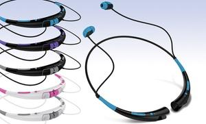 Aduro Amplify Neckband Bluetooth Headphones With Mic