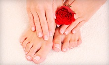 Mani-Pedi with Option for Facial, Microdermabrasion, or Massage at On The Avenue Spa by Woody Michleb (Up to 74% Off)