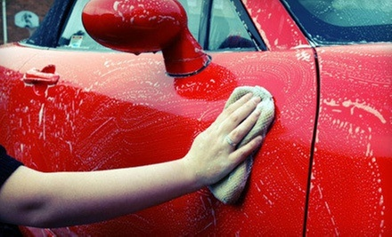 Three Works Car Washes or One Exterior Detail Package with Carpet Shampoo at Harv&#x27;s Car Wash (Up to 58% Off)