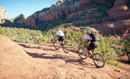 $99 for a 1.5-Hour Beginner Mountain Biking Tour for Two from Sedona Destination Adventures ($230 Value)