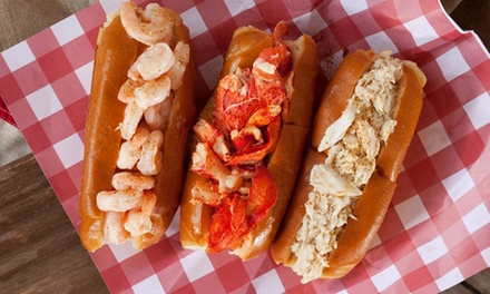 Lobster, Shrimp, and Crab Rolls at Willie T's Lobster Shack (Up to 47% Off). Two Options Available.