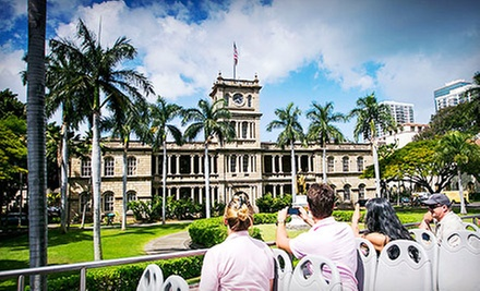 Two Double-Decker-Bus Tours for One Child or One, Two, or Four Adults from Polynesian Adventure Tours (Up to 55% Off)