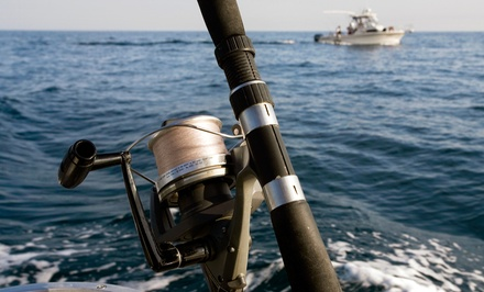 Four- or Six-Hour Fishing Excursion for up to Six People from Cape Star Charters (Up to 44% Off)
