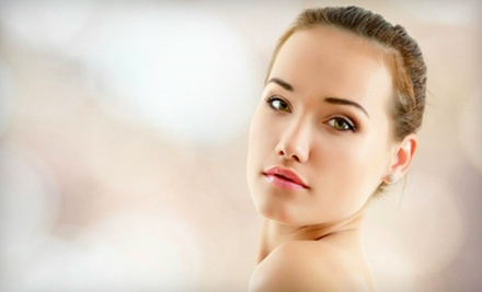 Signature Face-Lift Facial, Max Anti-aging Facial, or Image Organic Passion Peptide Peel at About Faces (Up to 70% Off)