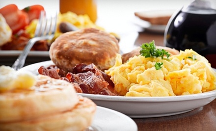 Diner Food for Dinner or Breakfast and Lunch at Patriots Diner (Up to 53% Off)