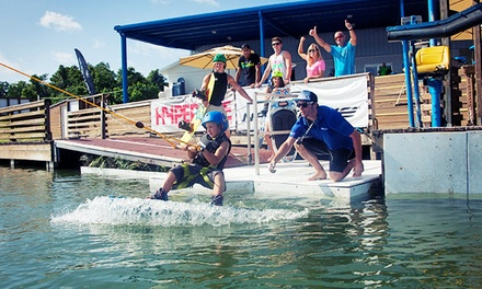 Wakeboarding Lesson with Four-Hour Riding Pass at Orlando Watersports Complex (Up to 37% Value)