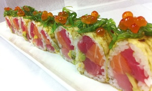 $18.99 For $30 Worth Of Sushi, Thai, And Chinese Food For Dinner At Mandarin Moon Restaurant