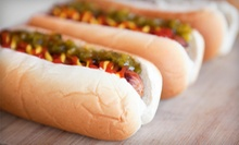 Punch Card for Two, Four, or Six Hot Dogs and Drinks at Levis Hot Dogs (Up to 51% Off)