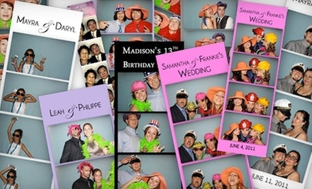$595 for a Three-Hour Photo-Booth Rental from Garden State Photo Studio ($1,200 Value)