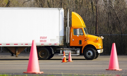 $2,400 for 18-Wheeler-Truck Driving Course at Academy School of Careers ($6,000 Value)