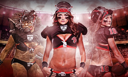 One or Four Tickets to an Atlanta Steam Legends Football League Game at The Arena at Gwinnett Center (Up to 32% Off)