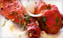 $10 for $20 Worth of Indian Cuisine for Dinner SundayThursday or FridaySaturday at Maanas