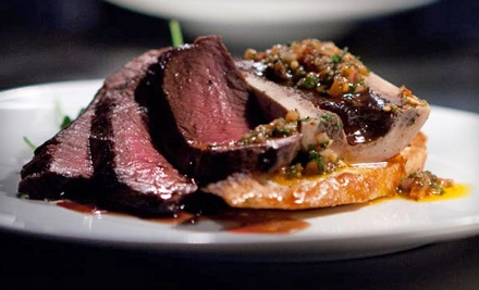 Pub Lunch with Beer for Two or Six-Course Chef's Table Dinner with Wine for Up to Eight at Icehouse (Up to Half Off)