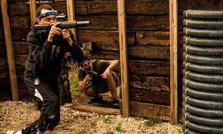Two Hours of Outdoor Laser Tag for Two, Four, or Eight at CMP Tactical Lazer Tag – Lake Geneva (Up to 61% Off)