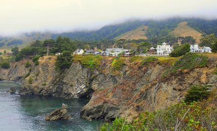 groupon daily deal - 1-Night Stay for Two at Greenwood Pier Inn on California's Mendocino Coast