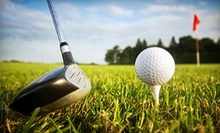 18-Hole Round of Golf with Cart Rental for Two or Four at Woodbine Golf Course (Up to 59% Off)
