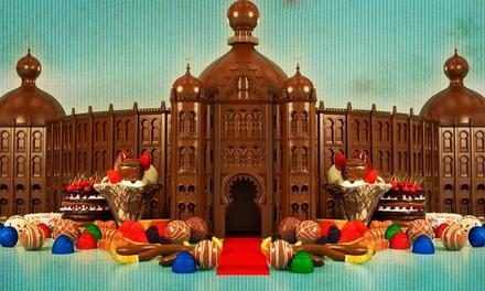 Campo Pequeno Espectáculos: bilhete duplo para o evento O Chocolate em Lisboa desde 3,50 €